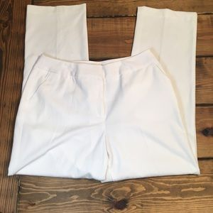 Investments White Trousers